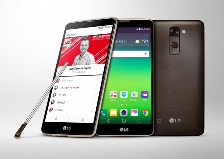 LG's Stylus 2 With DAB+ Support Will Launch In Europe And Australia