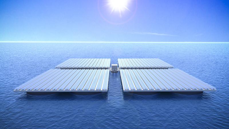 The Latest Renewable Energy Craze - Floating Solar Panels