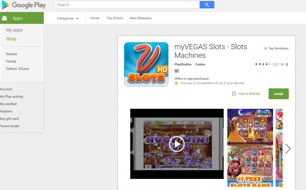 Get Real Vegas Rewards In MyVegas Slots & Konami Slots