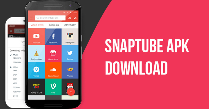 snaptube app download latest version