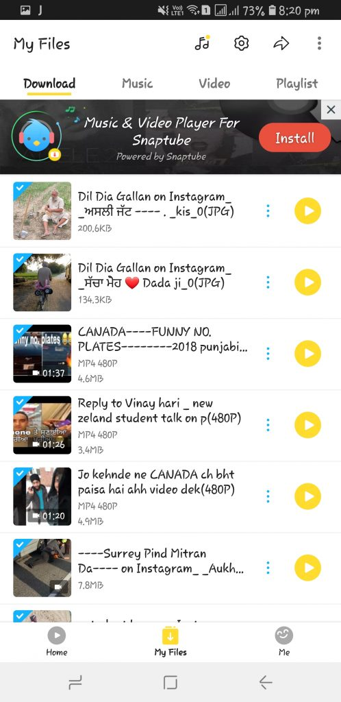 snaptube download